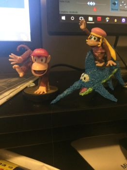 My current Desk Decorations by SuperTailsHero