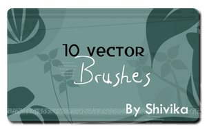 Vector Brush Set 2 by spiritcoda