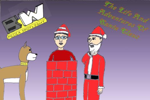 Life and Adventures of Santa title card by ShadowWingTronix