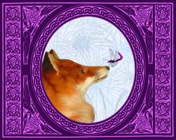 Dragonfly and Fox  I Know You by almostafaegodmother