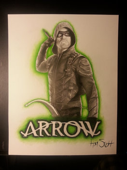 Arrow by timscottart