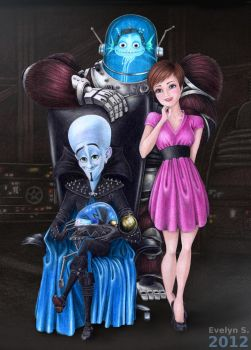 Megamind group picture by eleathyra