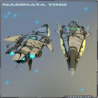 NAGINATA TOGI Light Cruiser SJ - 02 by PINARCI