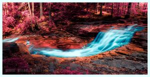 flowing by werol