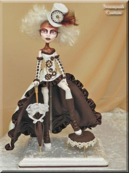 Steampunk Couture Spectra by KrisKreations