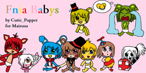 Cute Fnia Babys by MangaMelly