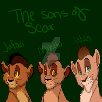 TLKOC: Sons Of Scar by The-North-Star-2014