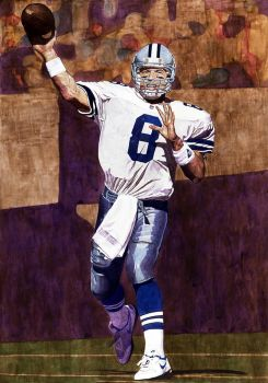 Troy Aikman - Dallas Cowboys by MSCampbell