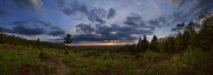 Case Mountain Panorama HDR by froggynaan