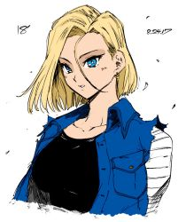 Android 18 By Lonerurouni187 by Kenkira