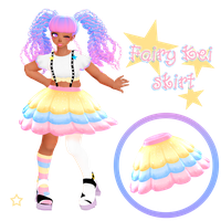 Fairy kei skirt DOWNLOAD DL for MMD by HoshichoM
