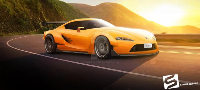 Toyota Supra Concept Tuning (FT-1) by Szaba18