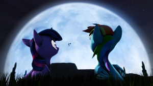 Moon Share by WIIZZIE