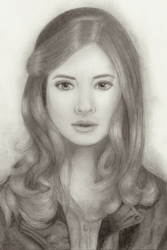 Amy Pond by AngelofLonelyness