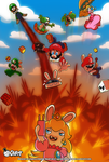 Crafty Concoction: Mario+Rabbids- PRINT AVAILABLE! by DrCrafty