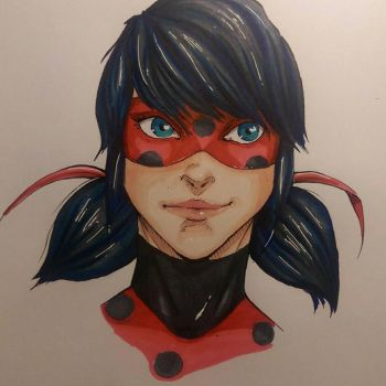 Ladybug - Daily Drawing 3 by Suichah