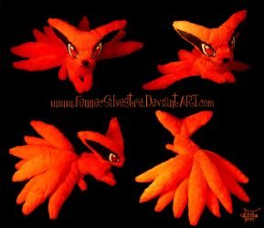 Baby Kurama Plush by FennecSilvestre