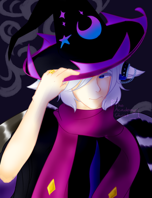 {Prompt   Hosekiko} Wizard Cookie Barney by TheAcademyGhost
