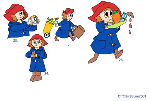 Humanised Paddington Bear 4 by OffClaireBlue2001