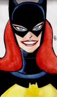 Batgirl water color by nic011