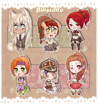 .: Mini Cuties 3rd Batch {Closed} :. by Biiiscoito