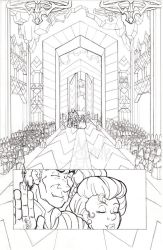The Fifth Elephant page i pencils by Murielle
