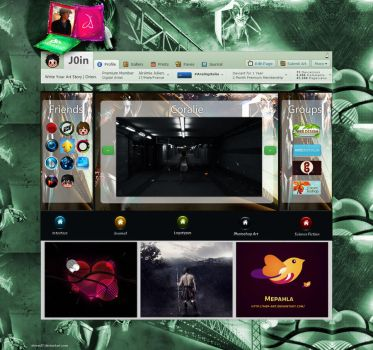 Jeremie Julien home page by ahmed7
