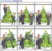 The Adventures of Business Cat - Festivities by tomfonder