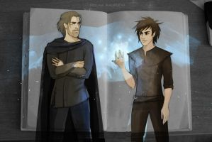 Roran and Eragon by AndreevaPolina