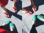 green and red by malissah