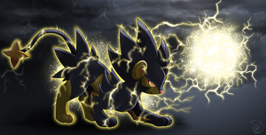 Volt the Luxray (Redo!) by TheStormUnleashed