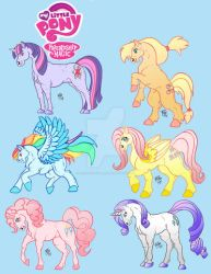 My Little Ponies - Prints by RegineSkrydon