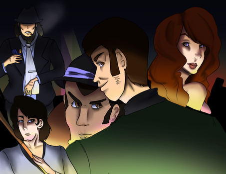 Lupin the Third by JapanLuvr21