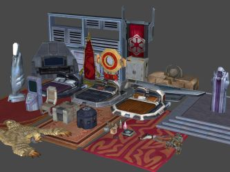 SWTOR Props Pack 3 for XNAlara by Torol
