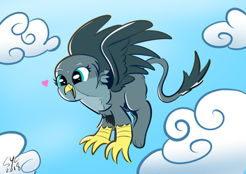 Gabby In The Sky by ChrisTheBlue