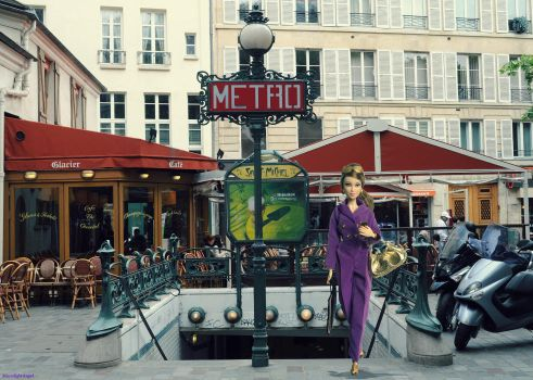 Working in Paris by Lady-Moonlight