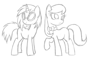 MLP: Music Ponies by PPGxRRB-FAN