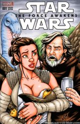 Milking the Force sketch cover by gb2k