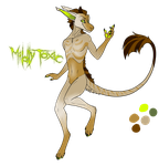 Mildly Toxic - Vernid adopt [OPEN] - pts/$ by DreamerTheTimeLady