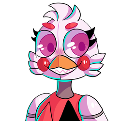 Funtime chica thing. by feraligamers