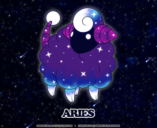 Aries Constellation - Mareep by Shinoharaa