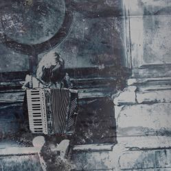 girl with accordion by CelinArts