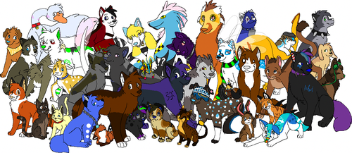 All My Characters by Miiroku