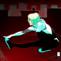 Sketch Dailies Spider-Gwen by e-carpenter