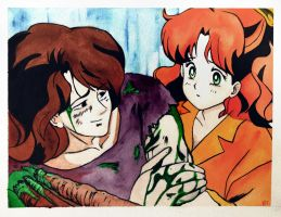 Molly and Nephrite by RUSKULL