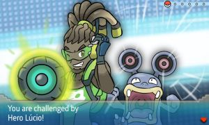 Overwatch Heroes and their Pokemon - Lucio