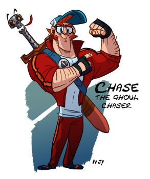 Chase the ghoul chaser by njay