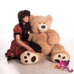 Me and Teddy by AkraruPhotography
