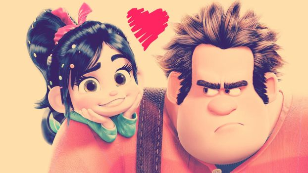 Wreck-It Ralph by Red1Abdu