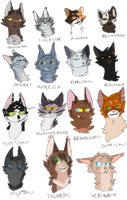 fawn draws so many cats by bearcIaw